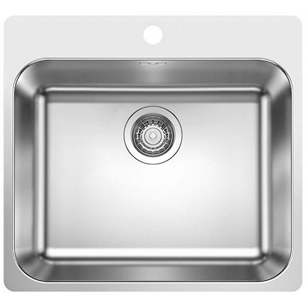 Kuhnenska Mivka Montazh Vrhu Plot Ss Otvor Za Smesitel 500h400h175mm Stomana Blanco Supra 500 If A 523363 Bathroom Scale Bathroom