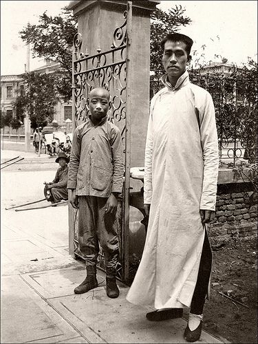 A Tall Man, China 1920s.
