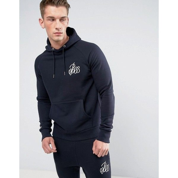 Bee Inspired Hoodie In Navy (265 ILS) ❤ liked on Polyvore featuring men's fashion, men's clothing, men's hoodies, navy, mens sweatshirts and hoodies, mens tall hoodies, mens hoodies, mens camouflage hoodies and mens camo hoodies