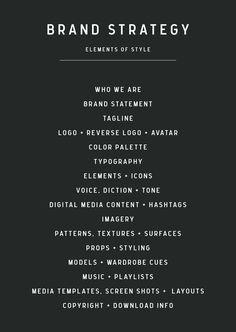 Branding ideas and inspiration ||| Sarah Quinn Visual Merchandising + Consulting ||| http://www.sarahquinn.com.au
