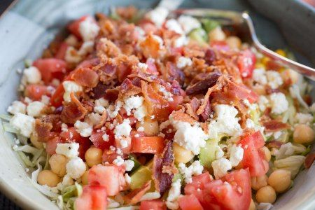 Zone Chopped BLT Salad Recipe