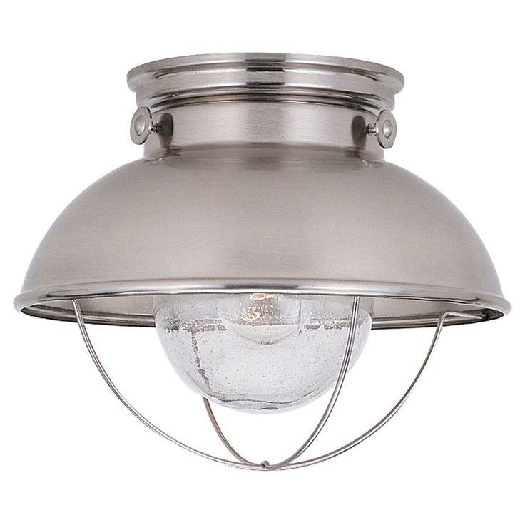 Sea Gull Lighting 8869 Sebring Transitional Outdoor Flush Mount Ceiling Light SG-8869