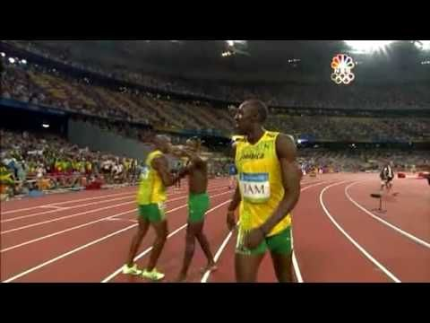 Usain Bolt - 6 World Records in 100m (9.72, 9.69, 9.58), 200m (19.30 19.19), 4x100m relay (37.10) - YouTube