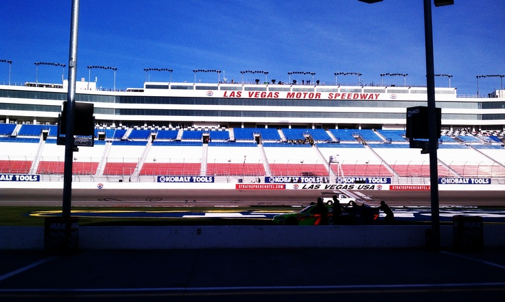 NASCAR, Las Vegas Motor Speedway -  will be there soon.