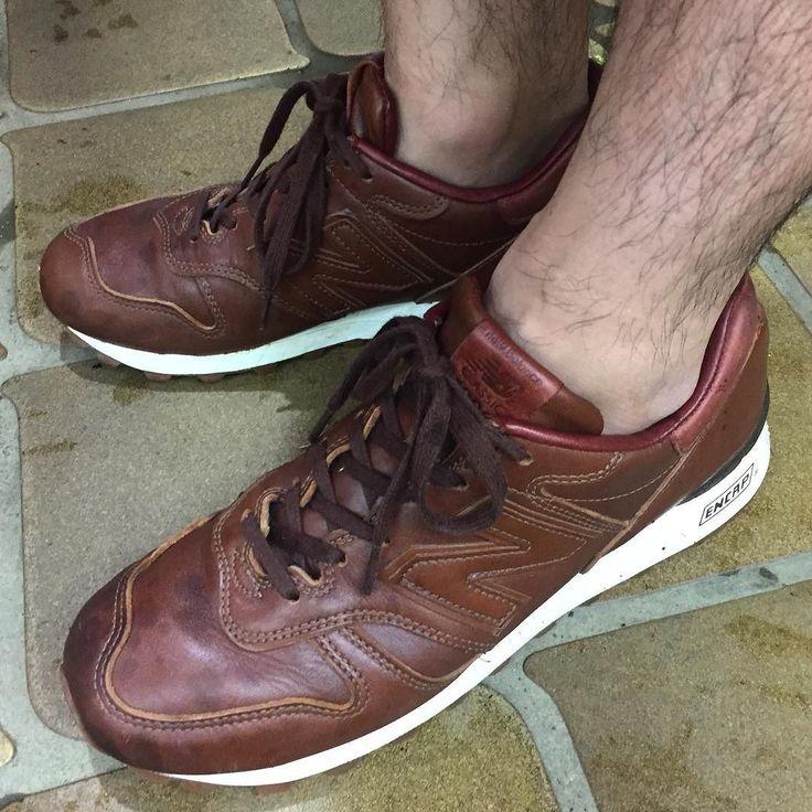 土砂降りですがクロムエクセルなので心配なし I wear NEWBALANCE HORWEEN CXL M1300. We have heavy rain but this oiled leather protects everything!!! #newbalance #horween #chromeexel  #m1300ber #m996 #ニューバランス #足もと倶楽部 #leathershoes #sneaker #スニーカー #fashion #kicks #todayskicks #Tokyo #KOTD #YOLO #like4like #l4l #tagsforlike #tflers #instagood #instadiary #instalike #instapic #instaphoto #madeinusa #leathergoods #shoestagram #instashoes #shoeporn