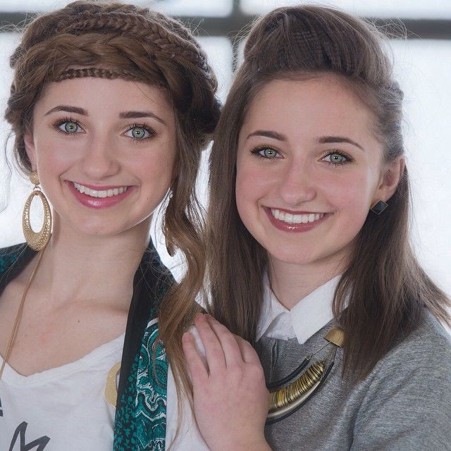 Cgh Hairstyles: Brooklyn And Bailey McKnight. This Is Their Recent Photo
