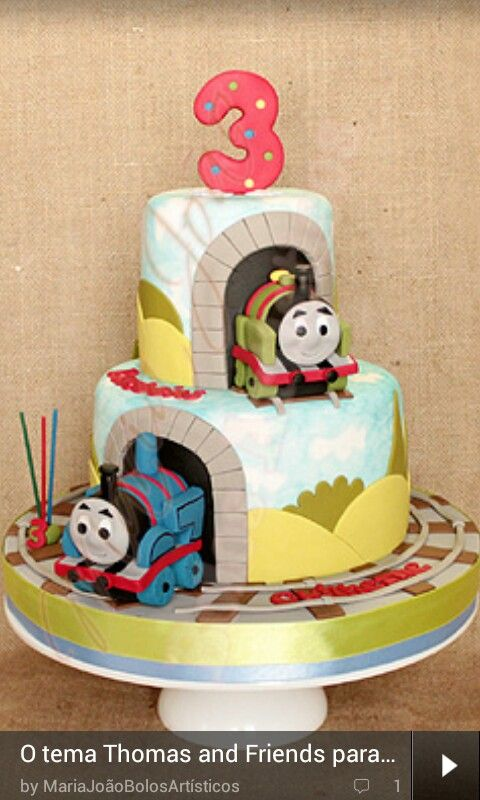 107 Best Images About Thomas The Tank Engine Cakes