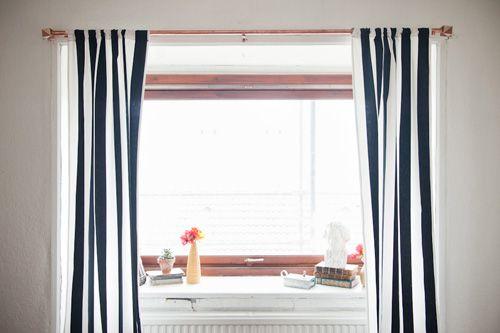 Curtain rod with geometric finial - Brittany Watson Jepsen