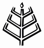 """Celtic and Germanic Wiccan symbols    ... Koks (""""Tree of Twilight""""), also commonly used as a symbol of Romuva"""