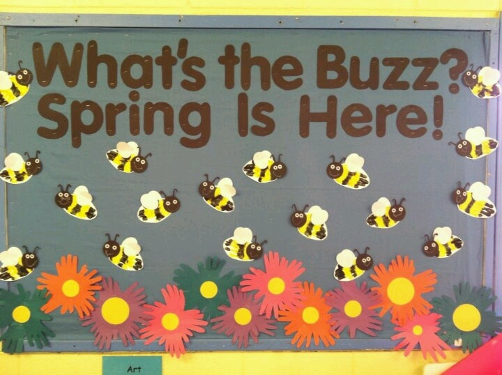 27 Best Spring Bulletin Boards Images On Pinterest