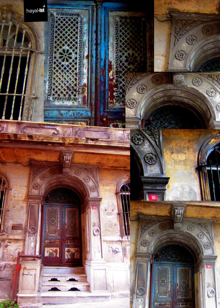 texture. door. colours. history. layers. details. at door no. 35 galata istanbul