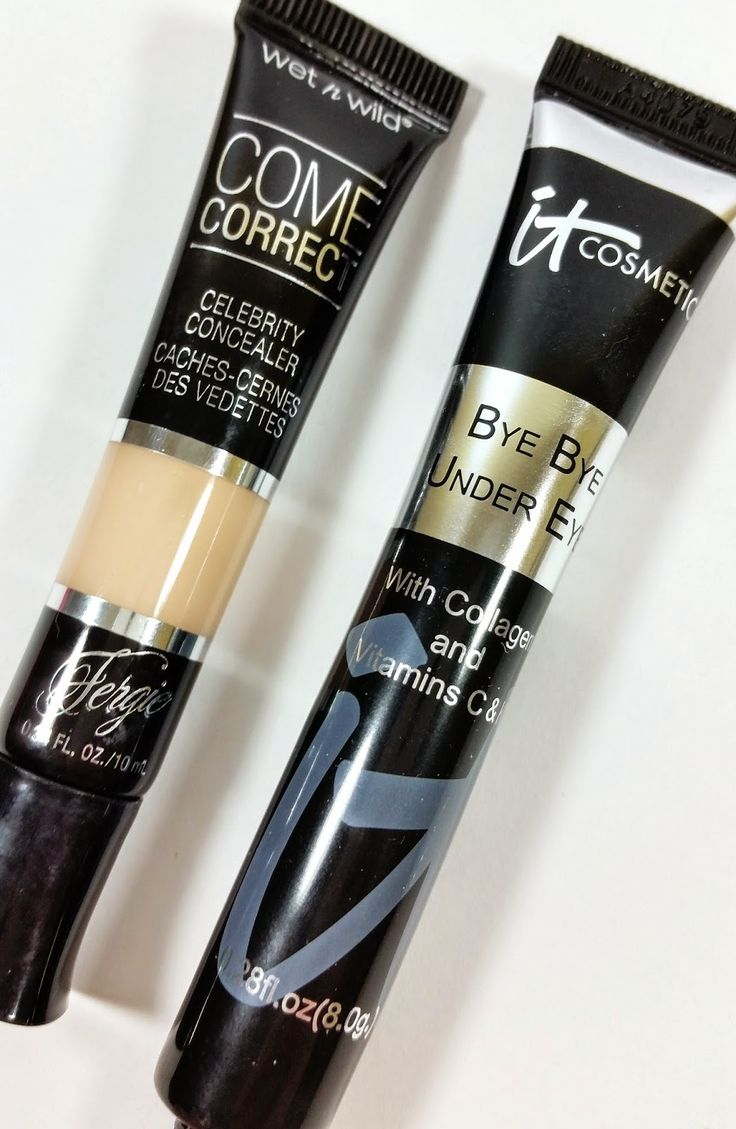 IT COSMETICS BYE BYE UNDER EYE DUPE ALERT! HIGH END vs DRUGSTORE. The Budget Beauty Blog: Wet N Wild Fergie Come Correct Celebrity Concealer Review and Swatches