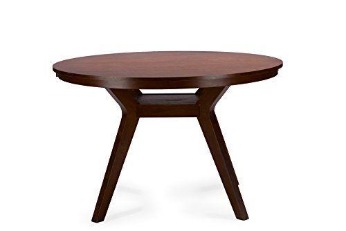 Baxton Studio Montreal Mid-Century Round Wood Dining Table, Dark Walnut Baxton Studio http://www.amazon.com/dp/B010C5PXD6/ref=cm_sw_r_pi_dp_PYUXvb0BMVQY3