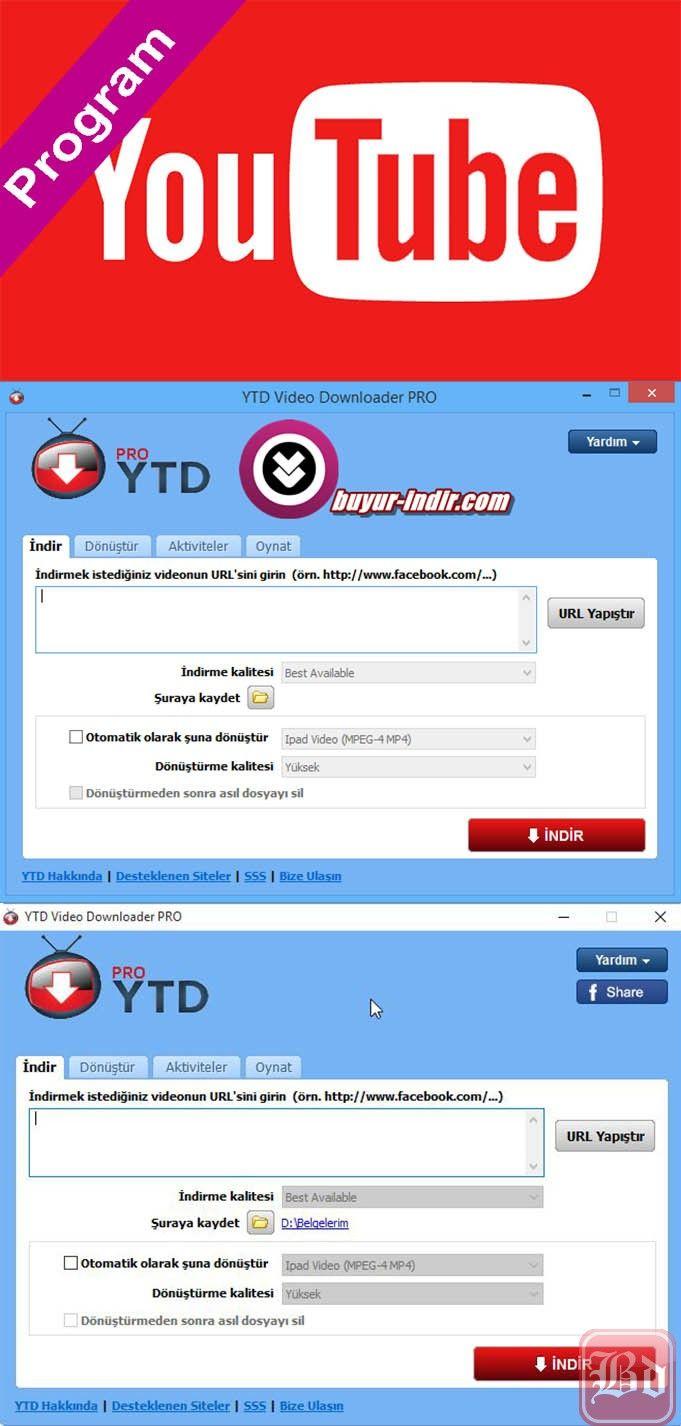 Youtube Video Downloader Pro v5.0.0.4 Türkçe Katılımsız