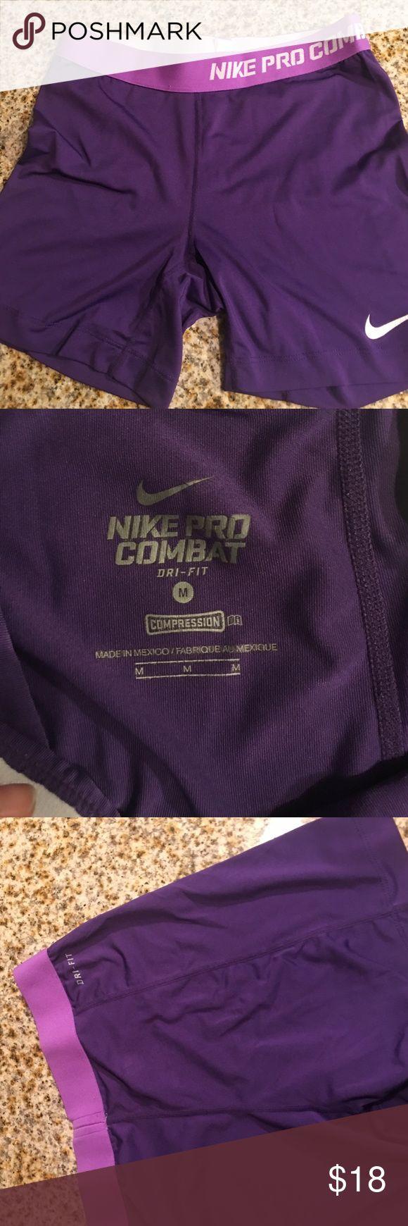 Nike pro combat spandex shorts Nike pro combat spandex shorts sz m 🤗 Nike Shorts