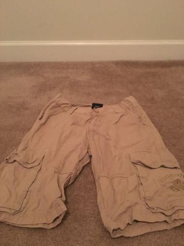 Beverly Hills Polo Club Boys Casual Cargo Shorts Sz 12 Beige Clothes