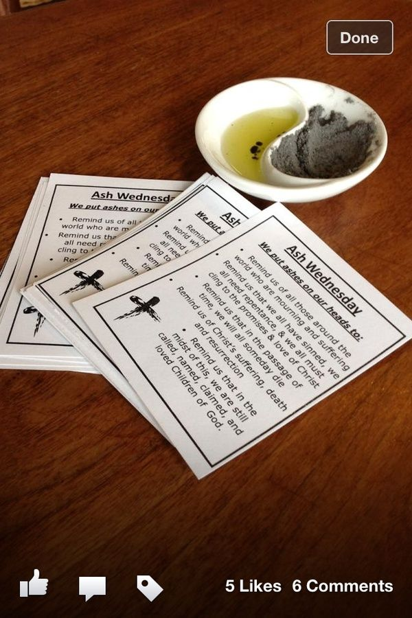 1000+ Ideas About Ash Wednesday Service On Pinterest