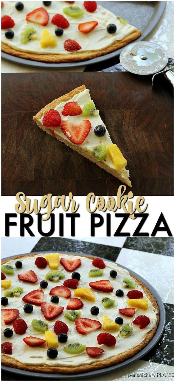 Best 25 Fruit Pizza Dessert Ideas Only On Pinterest