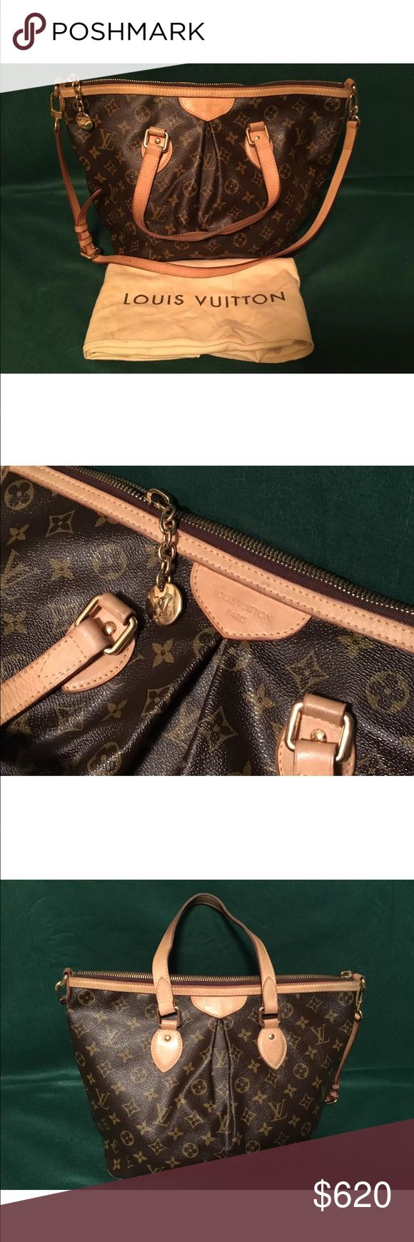 Authentic Louis Vuitton Palermo PM Monogram Bag Comes with dust cover. Used but pretty good condition. Outside looks very good. Inside has a few small stains but not bad. Zipper works great. All hardwear in good condition. Serial number on interior. TEXT ME AT (5 one 3) 4 five 4 - 5 two 4 nine  for a better price ($500) due to poshmart fees! Louis Vuitton Bags Shoulder Bags