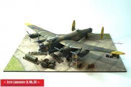 1/72 Avro Lancaster B.Mk.III, Revell + Eduard