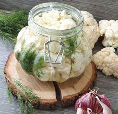 Kiszony kalafior to wspaniały sposób na przechowanie tego warzywa podczas zimy!