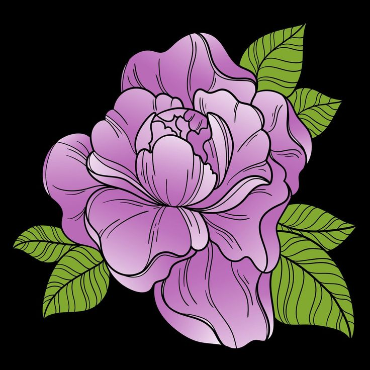 Love This Purple Flower Colored By ALandguth On Twitter From Our Flowers VIII Coloring Book Have You Tried The Pigment App Yet Its Best