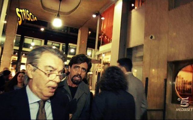 """Moratti, l'Inter e il Tapiro: """"Ora basta rotture"""" #massimo #moratti #tapiro #d'oro #inter"""