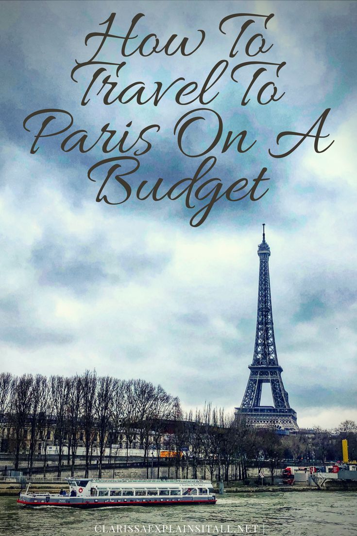 Thanks to my late night airfare searches, last month I was able to take this incredible trip I had been envisioning.Since I often receive comments about how lucky I am to be able to travel so much, I wanted to share with you how to travel to Paris on a budget. via @ClarissaXplain
