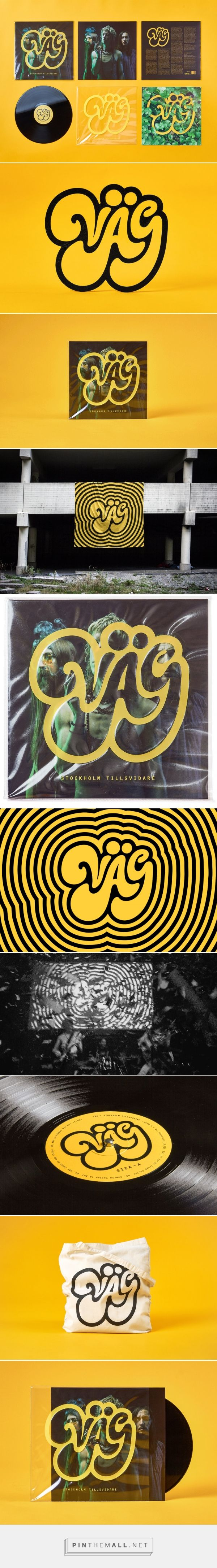 VÄG, the Swedish psychedelic rock band — The Dieline - Branding & Packaging Design
