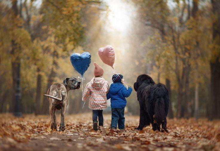 """""""Miłość do psów i dzieci czyni nas lepszymi"""""""