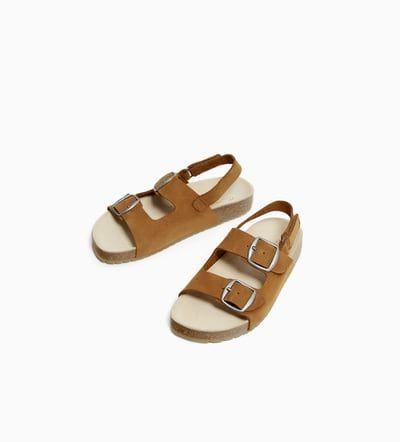 Sandalia Hebillas Sandalias Zapatos Niña 5 14 Años Niños Zara España Hebillas Zapatos Para Niñas Zapatos
