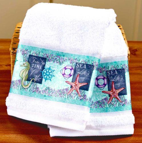 Nautical Guest Towels: Best 25+ Seahorse Decor Ideas On Pinterest