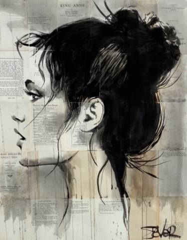 "Saatchi Art Artist LOUI JOVER; Drawing, ""elysian"" #art"