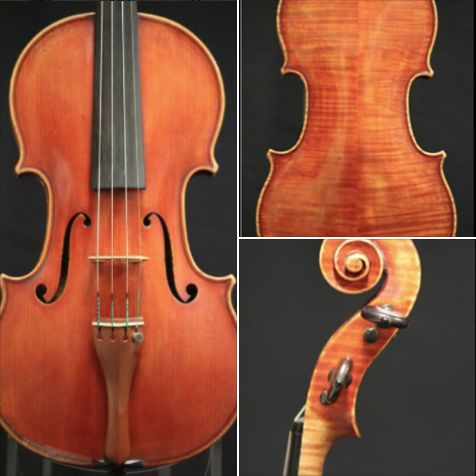 A 1962 violin crafted by Italian violinmaker Igino Sderci is available for examination and trial. Rich, powerful sound! #violin #Italian #violinmaker #IginoSderci #BenningViolins