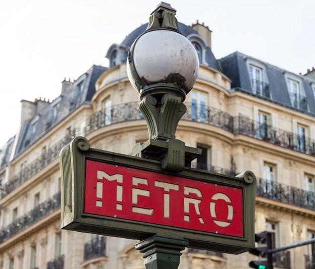 #Paris #Transport #metro