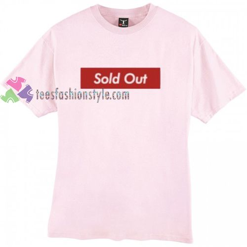 Sold Out Simple t shirt gift tees unisex adult cool tee shirts //Price: $11.99  //