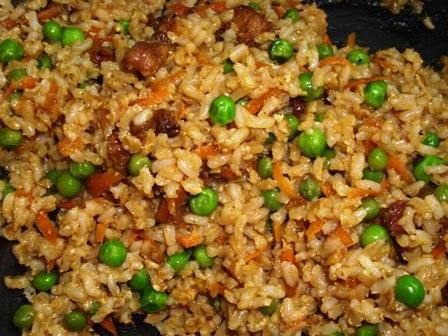 Juan-Carlos Cruz's Pork Fried Rice. Photo by Karen Elizabeth