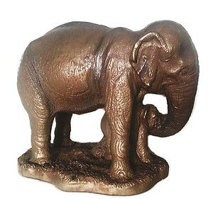 Austin Sculpture Prod Mother And Baby Elephant Figurine Statue Africa Large