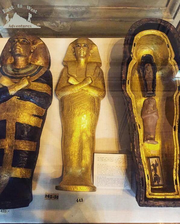 The Egyptian museum  المتحف المصري   #easttowestadventures #egypt #egyptianmuseum #cairo #travelblogger #travelphotography #museum #egypt #ancientegypt #hapshepsut #statue #wanderlust #explorethepast #mummies #pharoahs #giza #cairo #thenile #africa #kingdoms #gold
