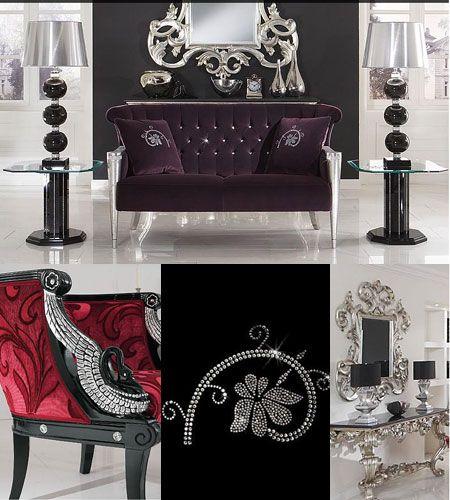 Swarovski Crystal Edition Furniture Designed And Developed By Celebrated  German Manufacturer Finkeldei.