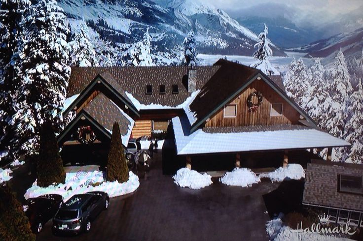 Snow Valley Lodge From The Hallmark Channel Movie Quot Let