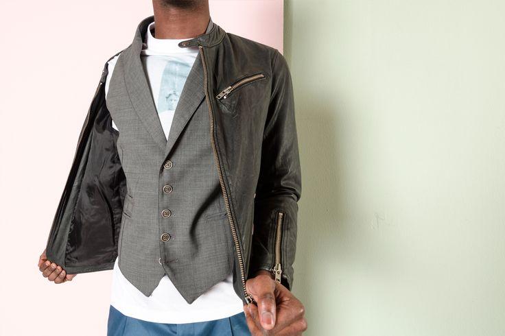 #rionefontana #look #outfit #gilet #eleventy #giacca #rionefontana #fashion #moda #pe2016