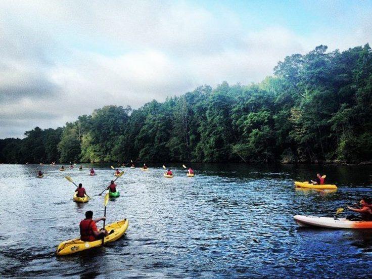 Flat Water Paddling in Charlotte NC
