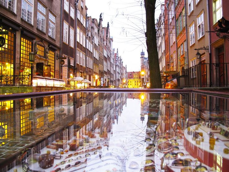 #Mariacka #Street in #Gdansk - #beautiful #place with #amber #jewellery | photo: Roberto Polce