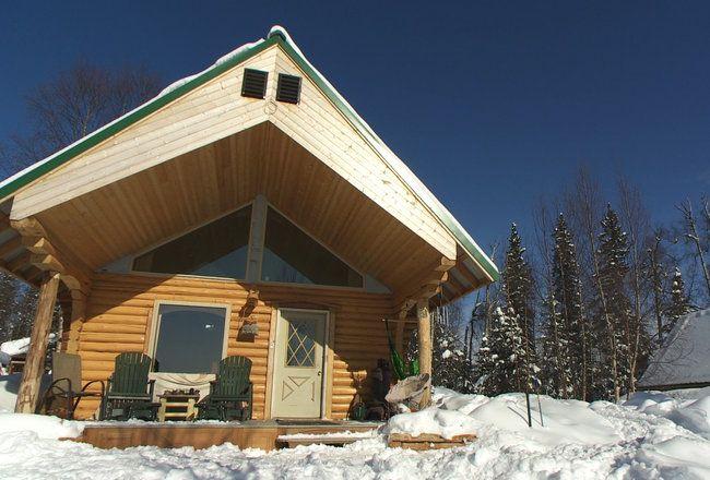 Unique Shape Cabin Cabins Cabinporn Buying Alaska