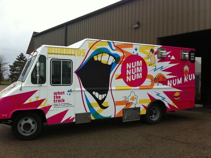Nom nom - What The Truck  #GrandRapids #foodtrucks