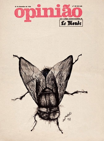 Elifas foi também autor de inúmeras peças de militância política, como cartazes, desenho de livros e revistas. É de sua autoria o design do jornal Opinião