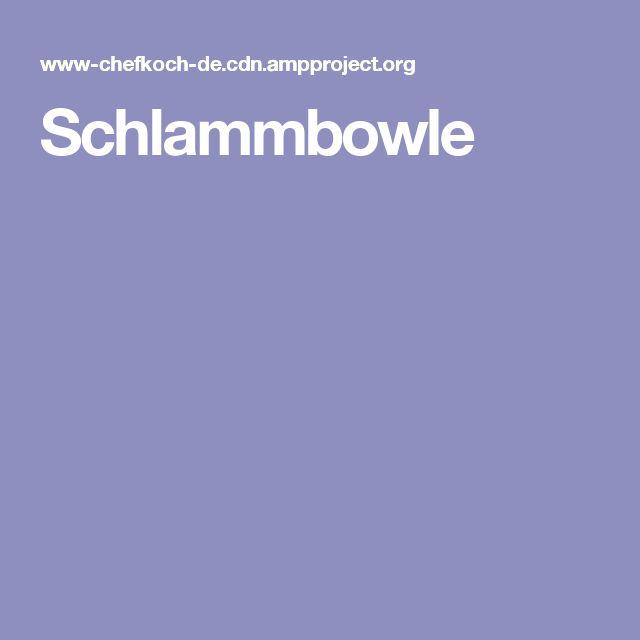 Schlammbowle