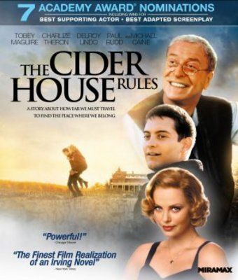 cider house rules movie poster