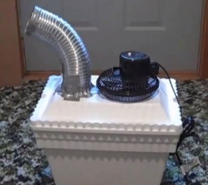 Ice Chest Air Conditioner Diy Woodworking Projects Amp Plans